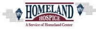 Thank you to our February Meeting Sponsor Homeland Hospice
